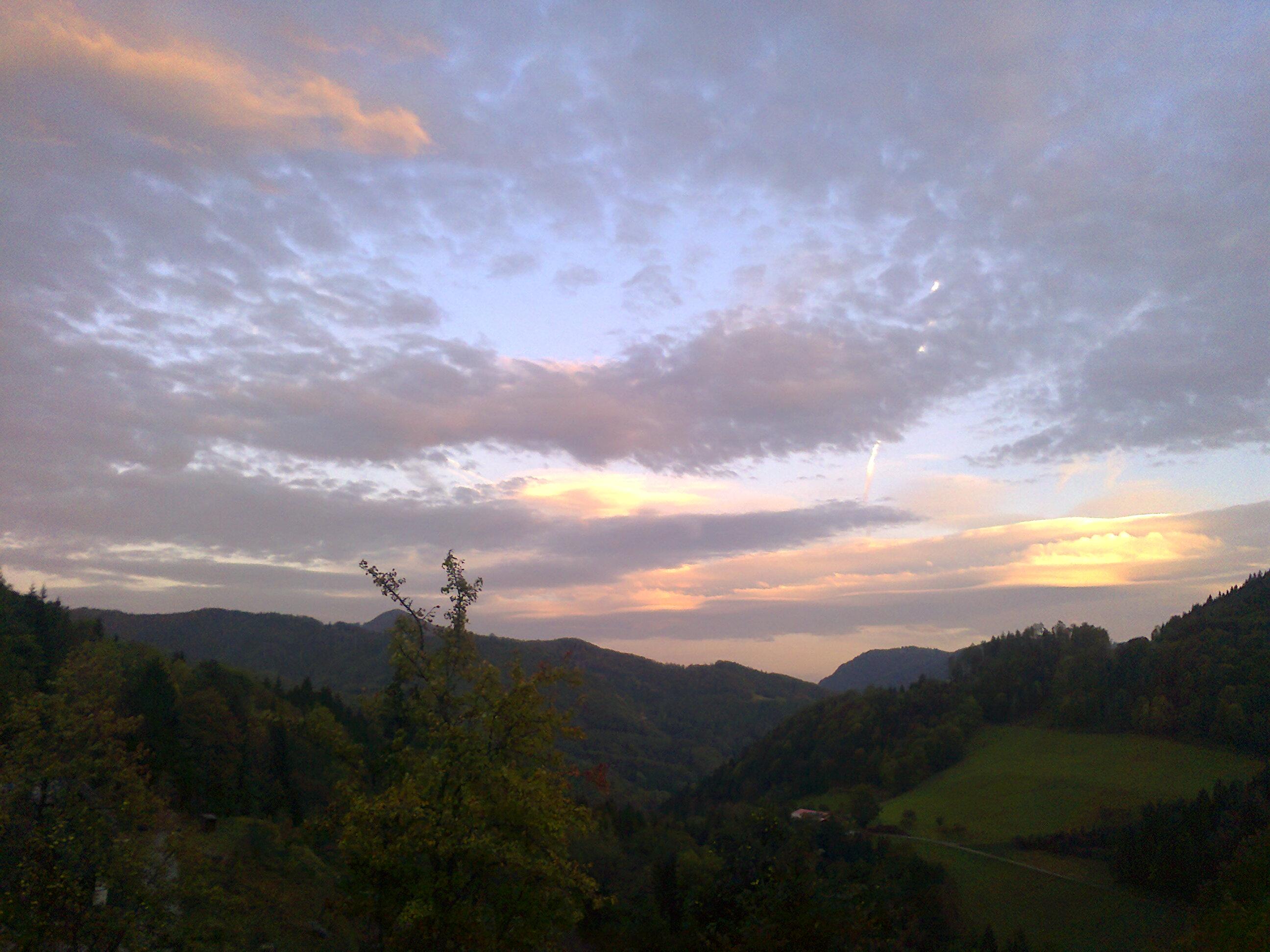 Der Himmel, den ich                                         stets seh